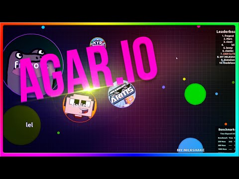 GET INSIDE OF ME SPEEDY! (Agar.io Game With The Crew!)