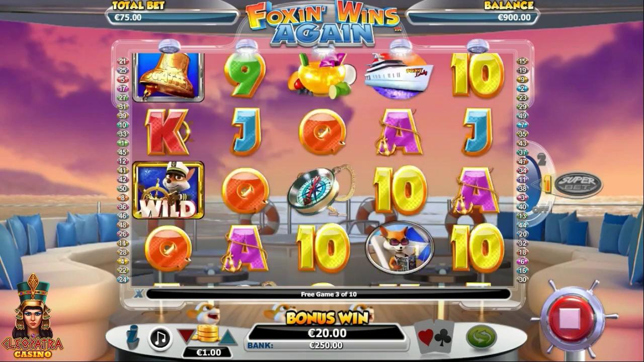 Foxin' Wins Again Slot Machine