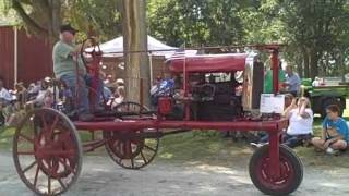 Sunday Afternoon  Visit to Carstens Farm Days 1880 Farmstead Parade Shelby Iowa 2011