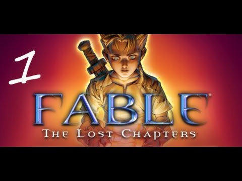 Fable The Lost Chapters Gameplay: Part one, Getting Drugged.