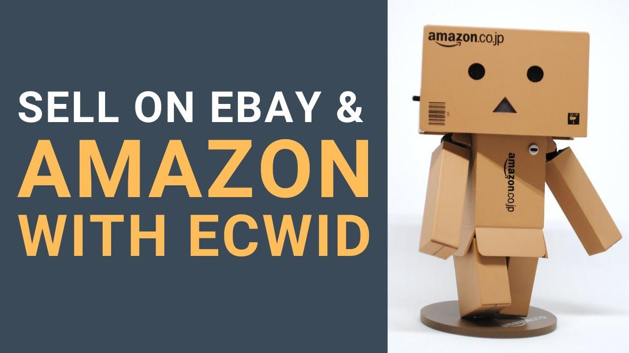 Ecwid Marketplaces EBay Google Shopping