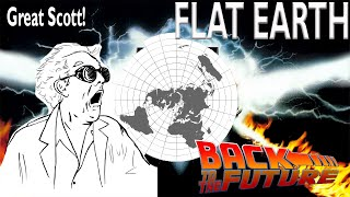 Great Scott! Flat Earth Found In Back To The Future