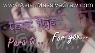 ★ ♥ ★ Para ti lyrics + Translation [Espanol] ★ www.Asian-Massive-Crew.com ★ ♥ ★