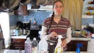 Fruit And Vegetable Wash- Homemade Natural Cleaning Products #1