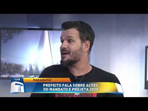 Prefeito de Paranavaí fala sobre ações do mandato e projeta 2020 - Tribuna da Massa (08/01/20)