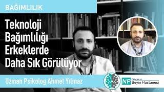 Teknoloji Bağımlılığı Erkeklerde Daha Sık Görülüyor - Uzman Psikolog Ahmet Yılmaz