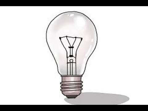 Amazing How To Draw A Light Bulb Awesome Design