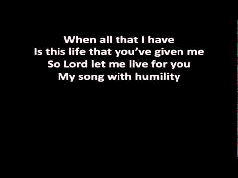 Big Daddy Weave - Audience Of One