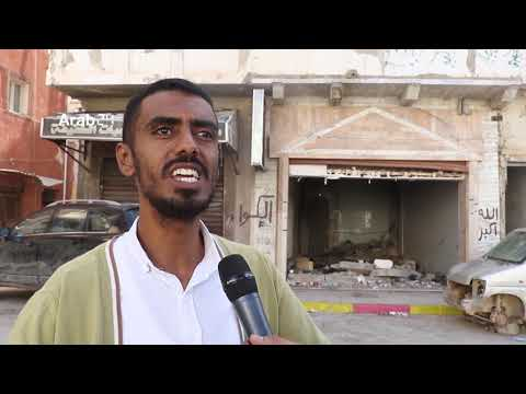 Libya |Benghazi people urge interim government to start reconstructions