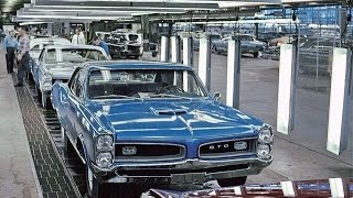 Amazing Muscle Car Era Factory Assembly Lines