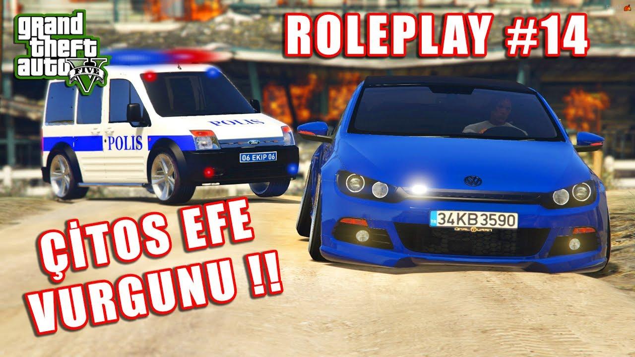 GTA 5 ROLEPLAY#14 ÇİTOS EFE VURGUNU !!