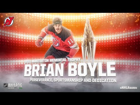 Brian Boyle Wins Bill Masterton Trophy
