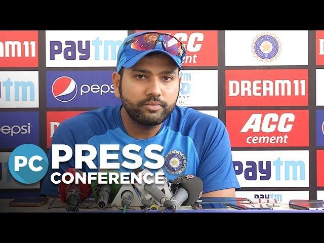 'Pretty sure Rajkot pitch will be better than Delhi' - Rohit Sharma