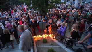 Mieszkańcy Olsztyna protestują przeciwko zmianom w sądownictwie