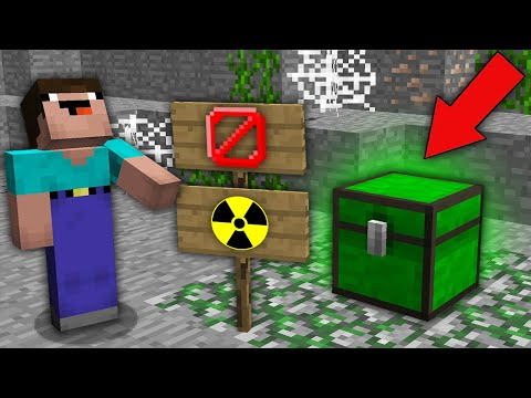 Minecraft NOOB Vs PRO: WHY NOOB SHOULD NOT OPEN THIS INFECTED CHEST? Challenge Trolling