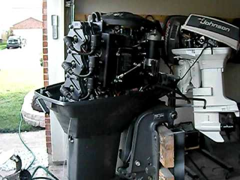 2000 Yamaha 60 hp - YouTube