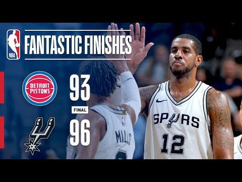 The San Antonio Spurs Win a Close One vs. Pistons | December 4, 2017