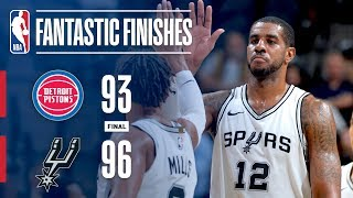 The San Antonio Spurs Win a Close One vs. Pistons | December 4, 2017