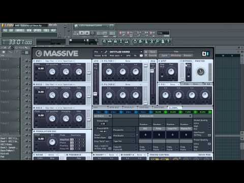 FL Studio: Dubstep Tutorial Part 3&4 - Song Structure & Bass Drop
