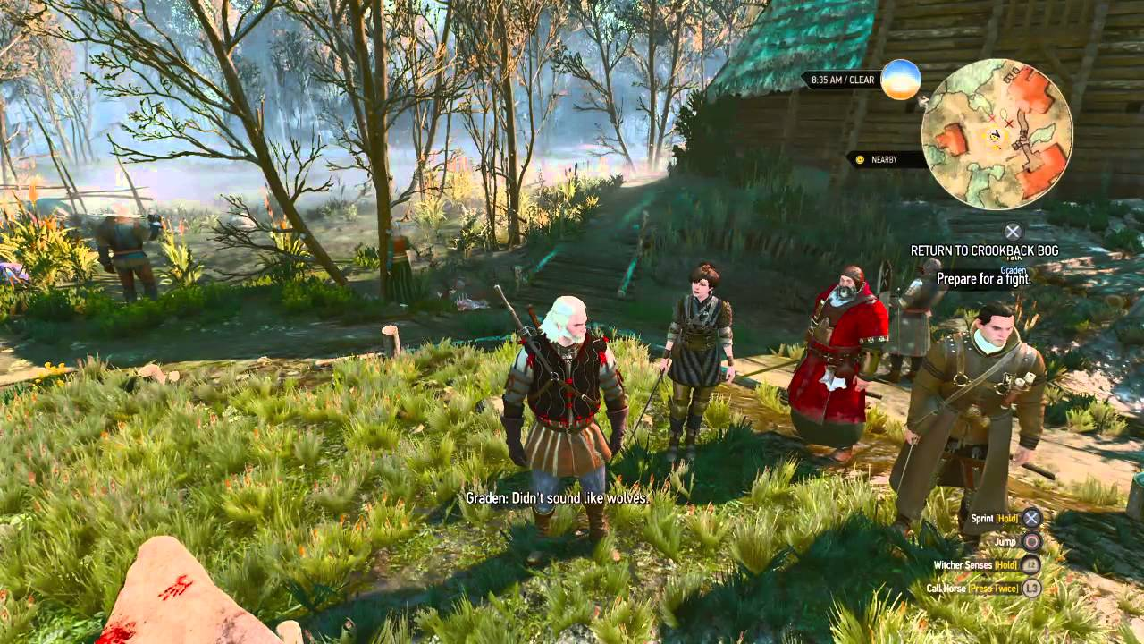 The Witcher 3: Wild Hunt Bloody Baron Good Ending