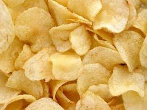طريقة عمل شيبس مقرمش بالمنزل How To Make Crispy Potato Chips Youtube