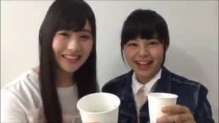 【NGT48 ひなみな対決~ブラックコーヒーを先に飲みきるのは?(本間日陽&加藤美南)】20160524
