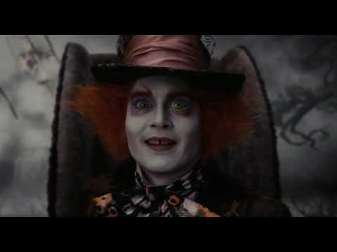 Alice in wonderland trailer italiano HD