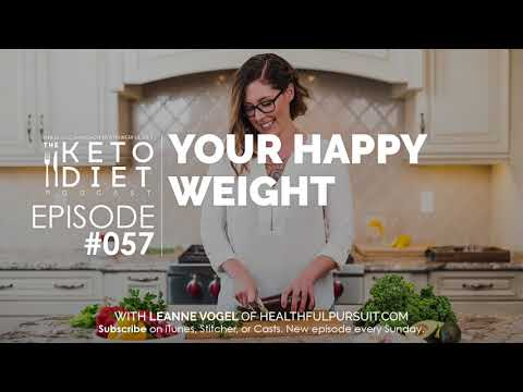 #057 The Keto Diet Podcast: Happy Weight