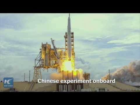 First Chinese experiment aboard International Space Station!