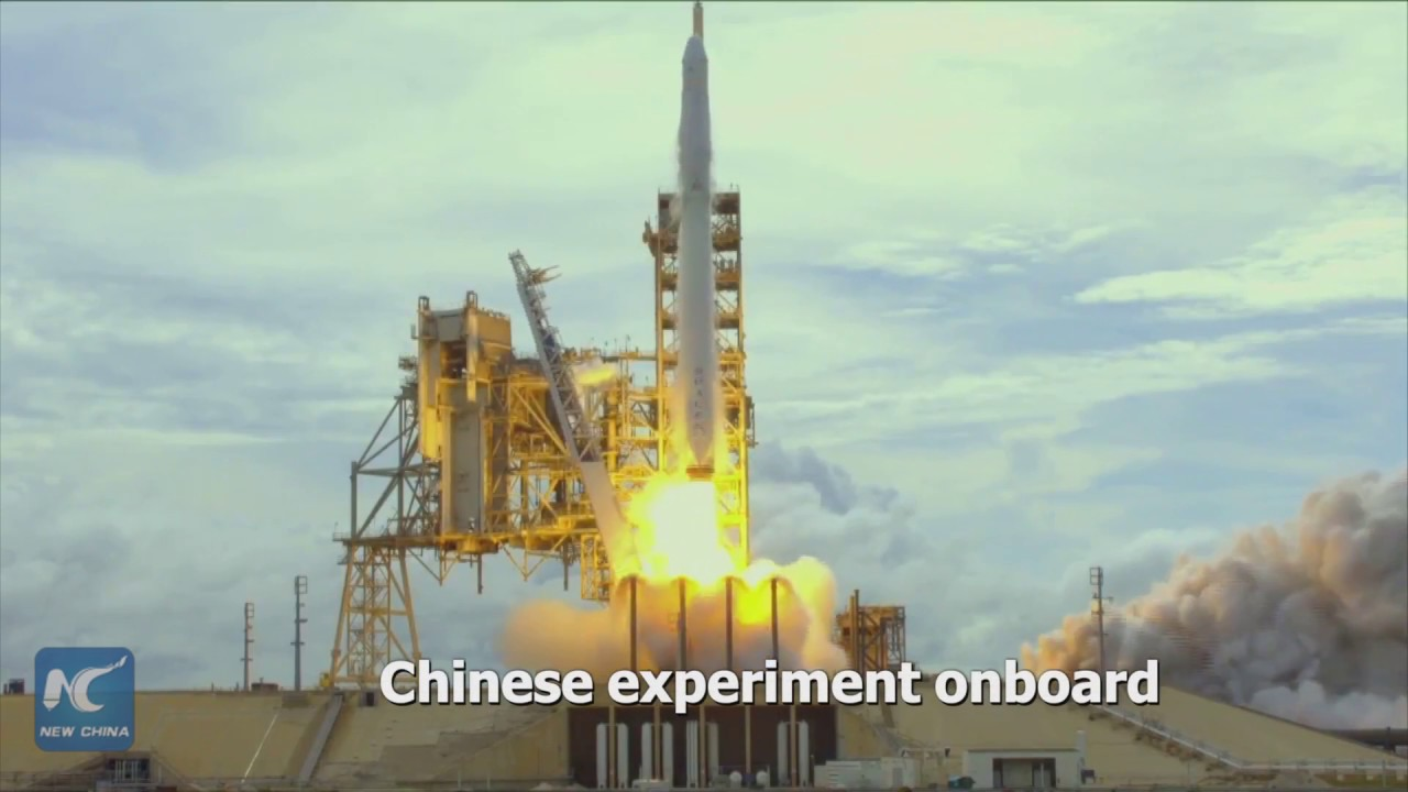 Chinese students started new space experiment close to Beijing