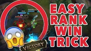 EASIEST WAY TO WIN RANK! | League of Legends