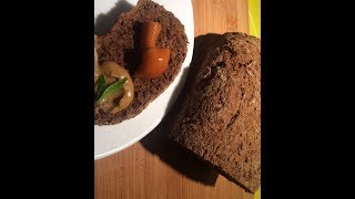 Бородинский хлеб. Черный хлеб в духовке без заквасок и сложностей) Легко и просто