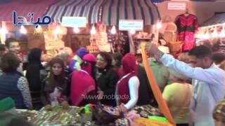 جولة داخل معرض الصناعات اليدوية المصرية بأرض المعارض