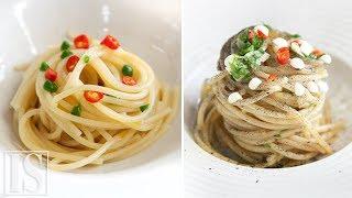 Spaghetti aglio, olio e peperoncino: 3 ricette di Marianna Vitale, Salvatore Bianco, Carmela Abbate