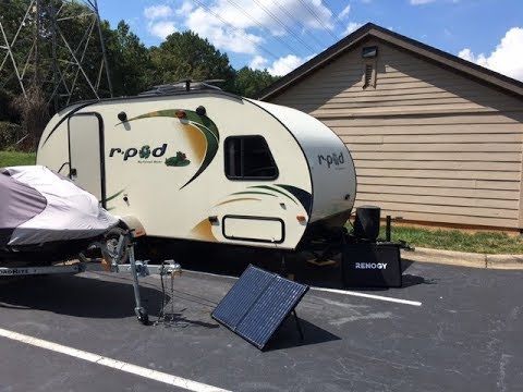 Off Grid Solar in an RV- Step by Step Install Process w/Renogy 100W Solar Suitcase