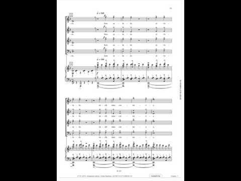 Carl Orff, Carmina Burana, O fortuna, Voice over, Tenor 1