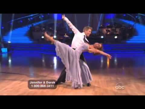 Jennifer Grey and Derek Hough Dancing with the stars Viennese Waltz