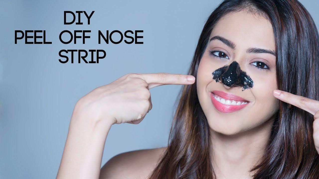 DIY Peel Off Nose Strip