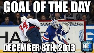 NHL GOAL OF THE DAY (December 8th, 2013)