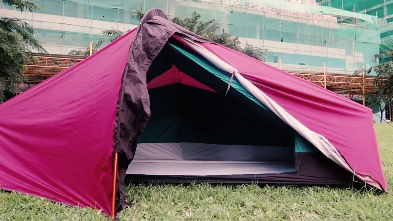 Silangan Rev20 Tent Lightest tent made in Cebu Philippines & Silangan Rev20 Tent Lightest tent made in Cebu Philippines - YouTube