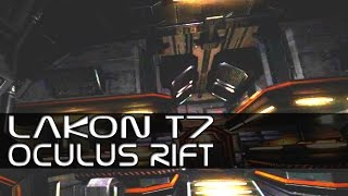 Elite: Dangerous - Walking Around the Lakon Type 7 Bridge - Oculus Rift DK2
