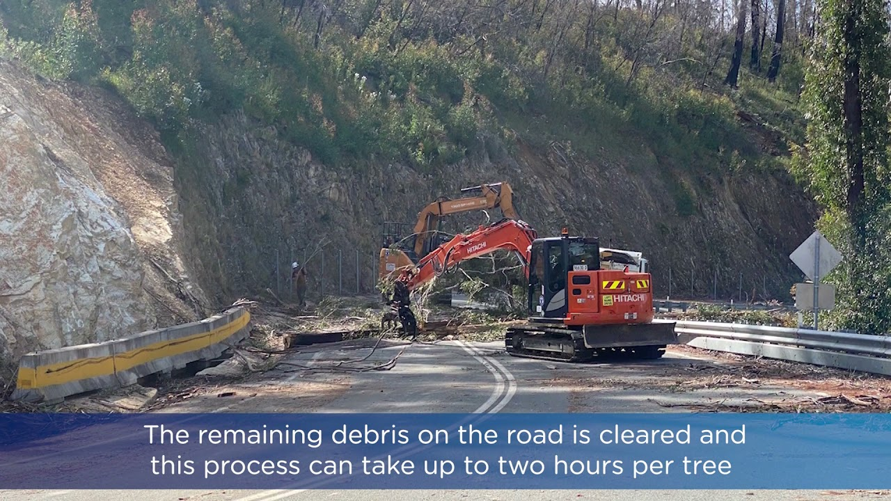 Kings Highway Clyde Mountain closures - closure times extended 8 to 4 from Oct 5th