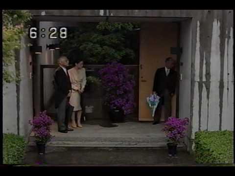 19930609皇太子殿下結婚の儀-雅子さん皇居へ