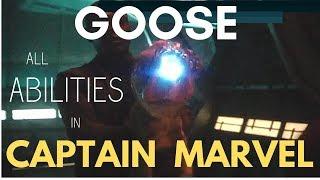 GOOSE: ALL ABILITIES    CAPTAIN MARVEL (2019)