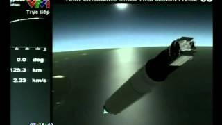 Toàn cảnh phóng vệ tinh Vinasat 2