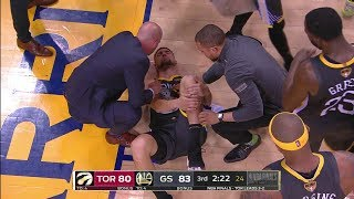 klay-thompson-leg-injury-torn-acl-game-6-raptors-vs-warriors-2019-nba-finals