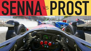 Senna vs Prost & Racing Drivers vs Gamers - FORZA 6 Race Off Finale!