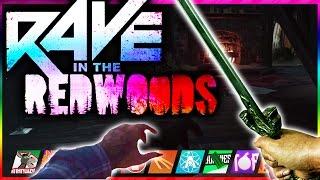 RAVE IN THE REDWOODS GAMEPLAY BREAKDOWN!! DLC1 RaveInTheRedwoods TRAILER! INFINITE WARFARE ZOMBIES!