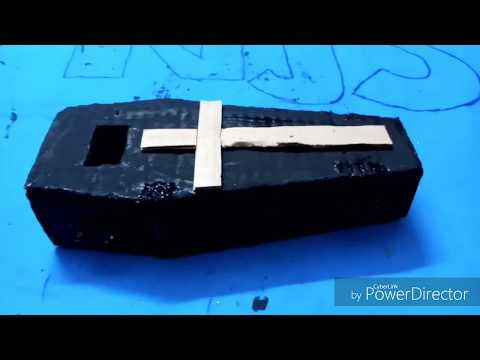 How to made coffin with cardboard l NJS l