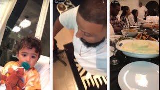 Dj Khaled Thanksgiving Day Snapchat Videos